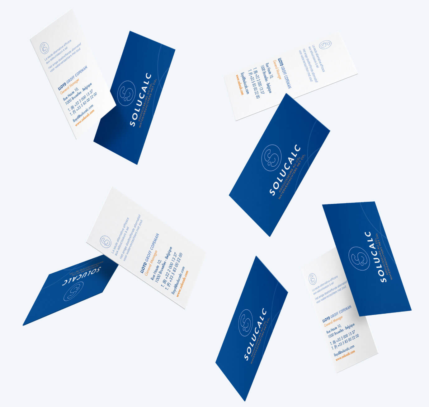 Solucalc - Branding - Business cards