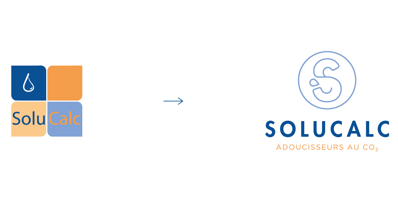 Solucalc - Branding - Logo Evolution Design