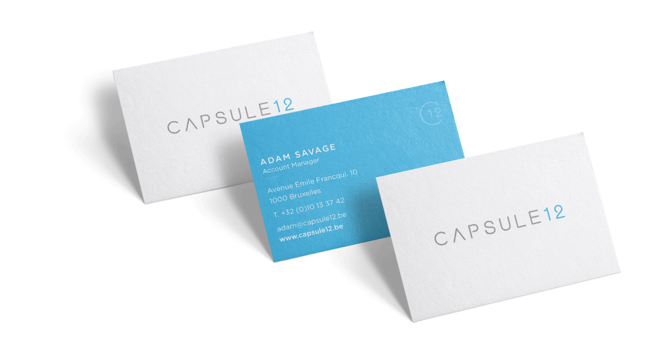 Capsule 12 - Branding - Business Cards