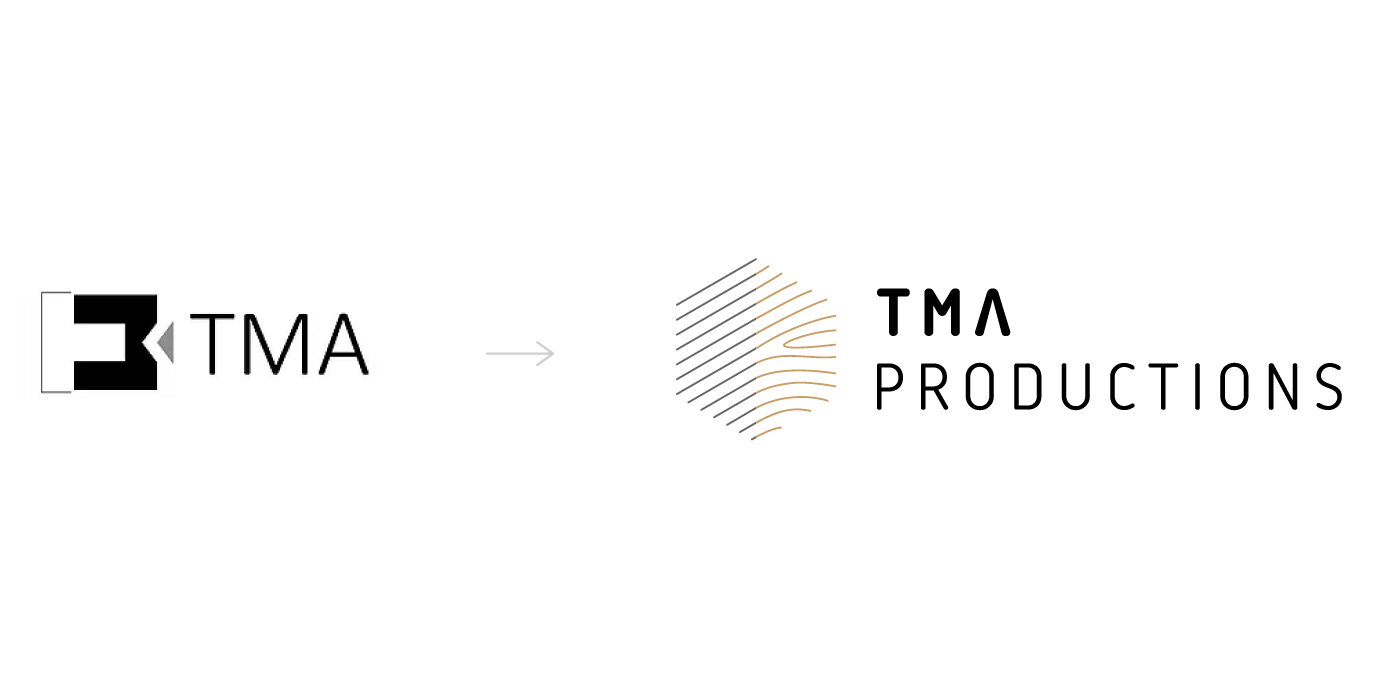 TMA Productions - Logo evolution
