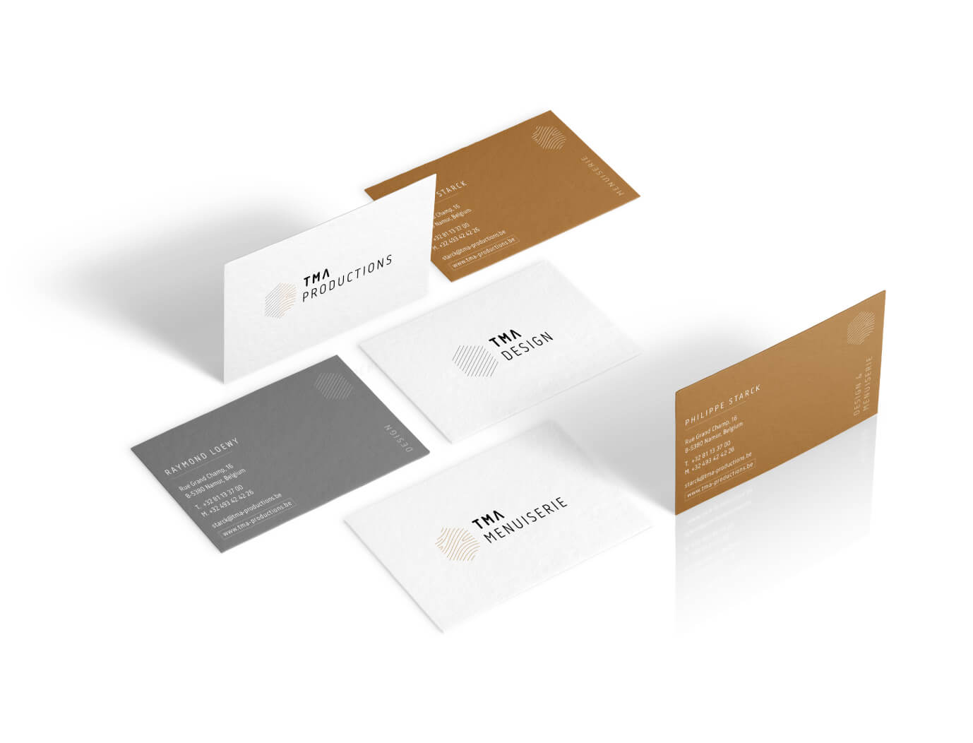 TMA Productions - Branding - Business Cards