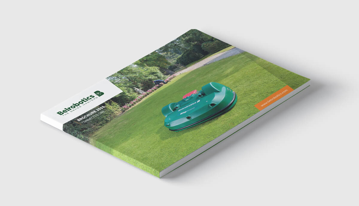 Belrobotics - Branding - Connected Line Brochure 2018